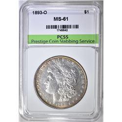 1893-O MORGAN DOLLAR PCSS BU
