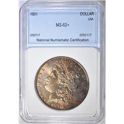 1901 MORGAN DOLLAR NNC BU+