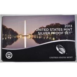 2013 U.S.SILVER PROOF SET ORIG PACKAGING