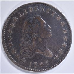 1795 FLOWING HAIR HALF DOLLAR  XF
