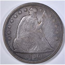1840 SEATED LIBERTY DOLLAR  XF/AU  BETTER DATE