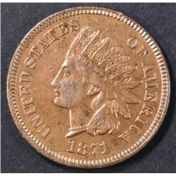 1871 INDIAN CENT  CH BU RB