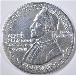 1928 HAWAIIAN COMMEM HALF DOLLAR  BU