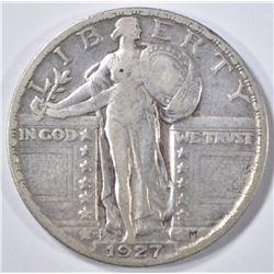 1927-S STANDING LIBERTY QUARTER  F/VF