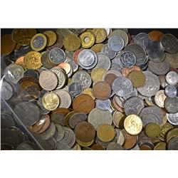 10 LBS FOREIGN COINS