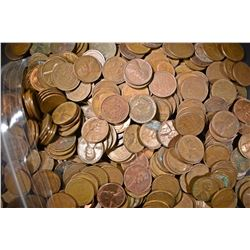 5 LBS WHEAT CENTS  MIXED DATES