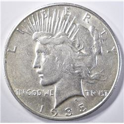 1935-S PEACE DOLLAR  CH AU