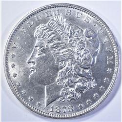 1878 7/8 TF MORGAN DOLLAR   BU
