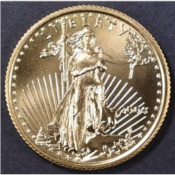 2006 $10 BU AMERICAN GOLD EAGLE 1/4th Oz FINE GOLD