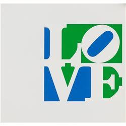 Robert Indiana American Pop Lithograph Love