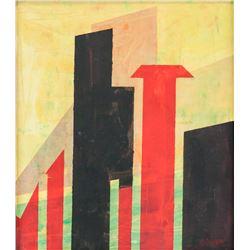 Lyonel Feininger German Expressionist Oil Canvas