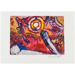 Marc Chagall Russian-French Signed Lithograph