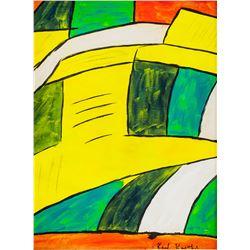 Karl Knaths American Cubist Oil on Canvas