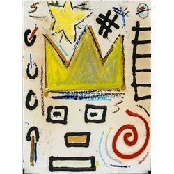 Jean-Michel Basquiat Mixed Media Board Provenance