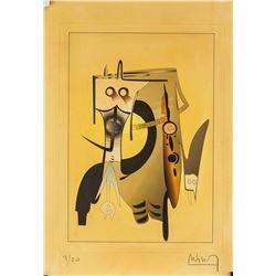 Wifredo Lam Cuban Surrealist Signed Litho 4/20