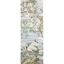 Chen Zhifo 1896-1962 Chinese Watercolor Birds