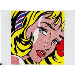 Roy Lichtenstein American Pop Signed Litho 2/100