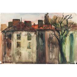 Abraham Manievich Russian Expressionist Pastel