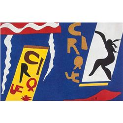 Henri Matisse French Fauvist Signed Lithograph H.M