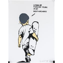 Banksy British Pop Signed Lithograph 2/200