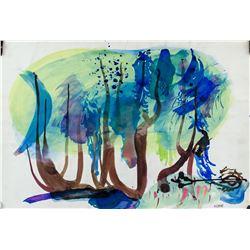 Jean Rene Bazaine French Modernist Watercolor