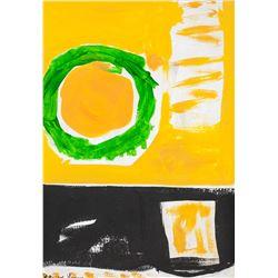 Patrick Heron British Abstract Oil on Canvas