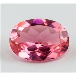 5.49ct Oval Cut Pink Ruby Gemstone