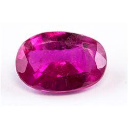 5.03ct Oval Cut Pink Ruby Gemstone