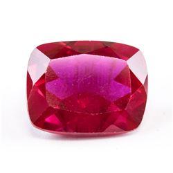 9.60ct Cushion Cut Pinkish Red Ruby Gemstone AGSL