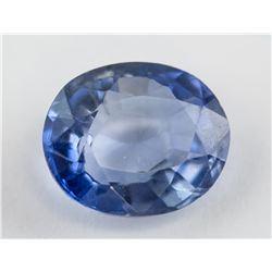 3.20ct Oval Cut Blue Sapphire Gemstone