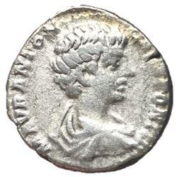 Caracalla as Caesar 196-198 AD Silver Denarius