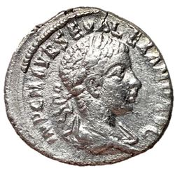 Severus Alexander 222-235 AD Silver Denarius Rome
