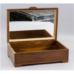 European Wooden Jewelry Box