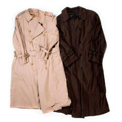 Two BurberryLondon Cotton Trench Coats