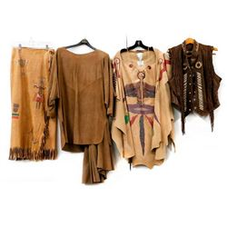 Vintage Southwest Style Leather & Suede Clothing