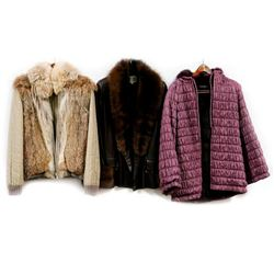 Three Designer Jackets