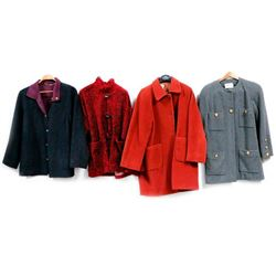 Collection of 6 Designer Coats