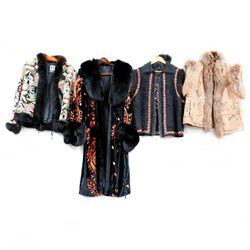 Vintage Designer Fur Accented Jackets & Vests