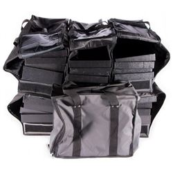 Canvas & Nylon Jewelry Salesman Carrying Cases with