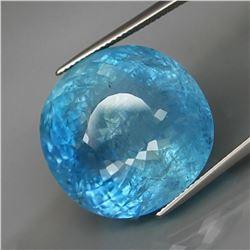 Natural Brazil Blue Aquamarine 52.25 Carats