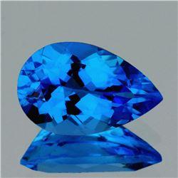 Natural  AAA Swiss Blue Topaz 24x16 MM - FL