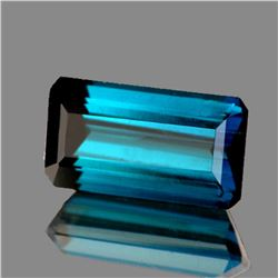 Natural AAA Blue Tourmaline 10x5 MM - Flawless