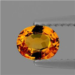NATURAL GOLDEN ORANGE ZIRCON 3.85 Ct - FL
