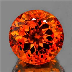 Natural Rare Sun Fire Orange Sphalerite 10.36 MM