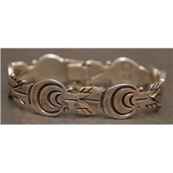 MEXICAN SILVER LINK BRACELET