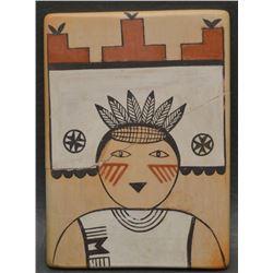 HOPI INDIAN POTTERY TILE (DARLENE NAMPO)