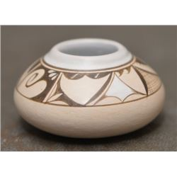 CHEMEHUEVI INDIAN POTTERY BOWL (THERESA WILDFLOWER )