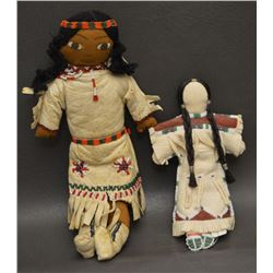 SIOUX INDIAN DOLLS