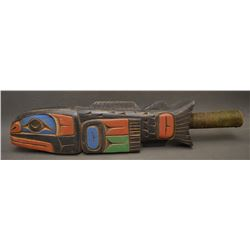 NORTH WEST COAST INDIAN RATTLE