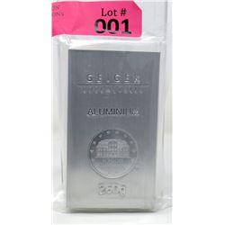 250 Gram Geiger Edelmetalle .999 Aluminum Bar